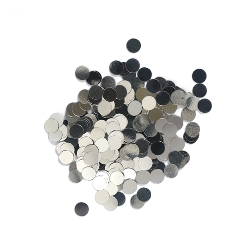 Darice 6mm Dot Shaped SILVER CONFETTI 163038 Preview Image
