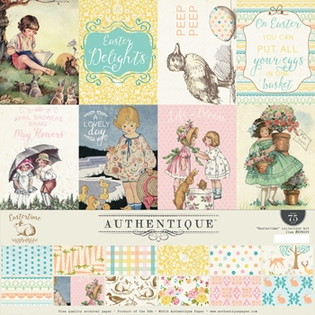 Authentique EASTERTIME 12 x 12 Collection Kit ETM009