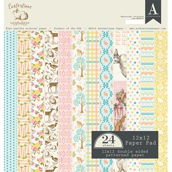 Authentique EASTERTIME 12 x 12 Paper Pad ETM010