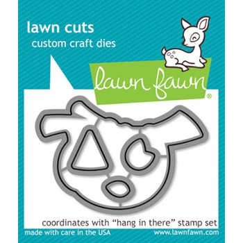Lawn Fawn HANG IN THERE Lawn Cuts LF1312