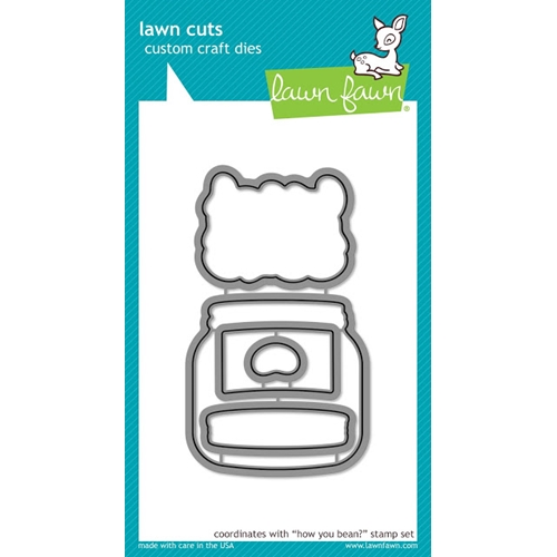 Lawn Fawn HOW YOU BEAN? Lawn Cuts LF1326 Preview Image