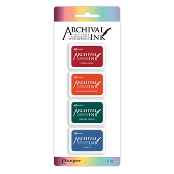 Ranger Mini Archival Ink Pads KIT 1 AIMK57673