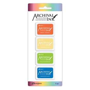 Ranger Mini Archival Ink Pads KIT 3 AIMK57697
