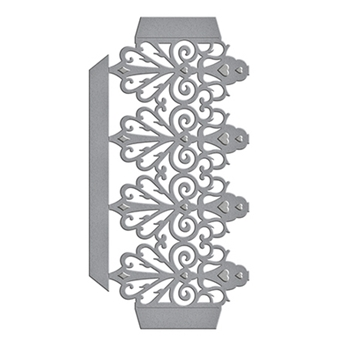 S4-734 Spellbinders FRETWORK POCKET Etched Dies