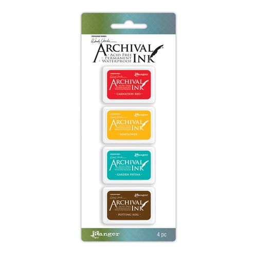 Ranger Wendy Vecchi Mini Archival Ink Pads KIT 1 AMDK57796 Preview Image