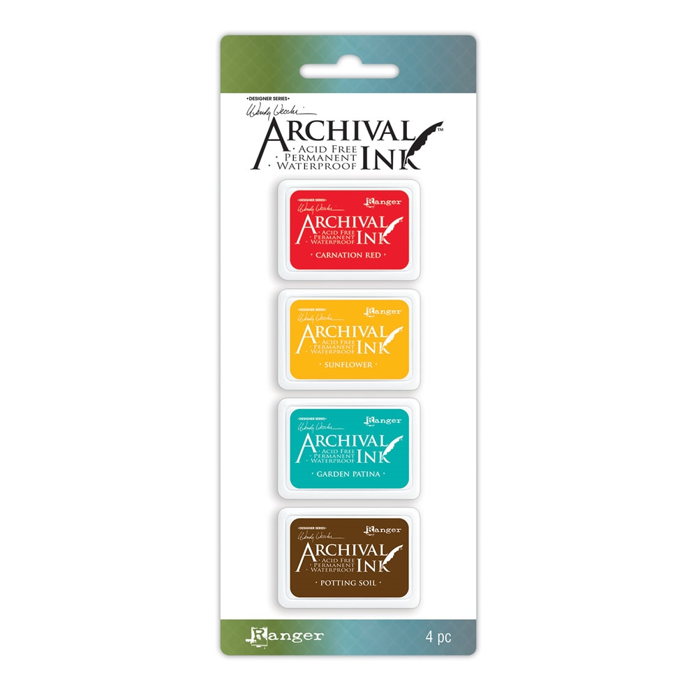 Ranger Wendy Vecchi Mini Archival Ink Pads KIT 1 AMDK57796 zoom image