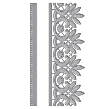 S4-708 Spellbinders GRACEFUL FLORAL LACE Card Creator Amazing Paper Grace by Becca Feeken Etched Dies