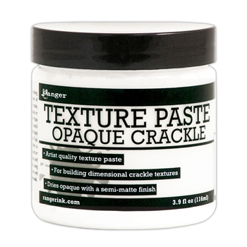 Ranger TEXTURE PASTE OPAQUE CRACKLE 4oz INK57505