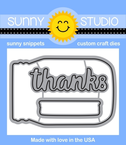 Sunny Studio VINTAGE JAR Snippets Die SunnySS049 Preview Image