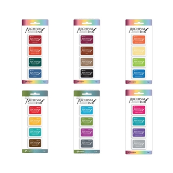 RESERVE Ranger MINI ARCHIVAL INK PADS SET RANGER100