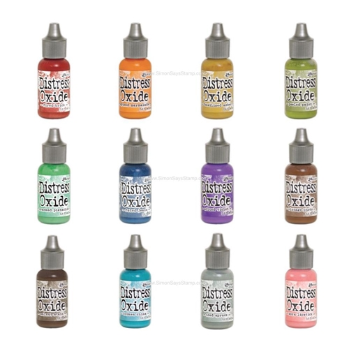 Tim Holtz Distress OXIDE REINKERS SET OF 12 Ranger RANGER101 Preview Image