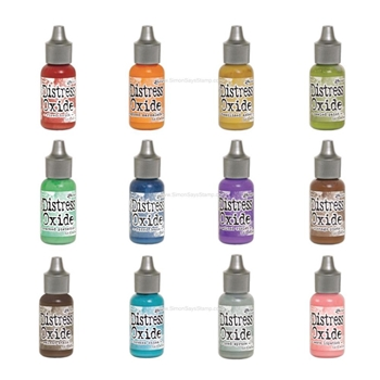 RESERVE Tim Holtz Distress OXIDE REINKERS SET OF 12 Ranger RANGER101