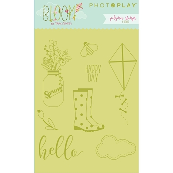 PhotoPlay BLOOM Clear Stamp Set BL2438