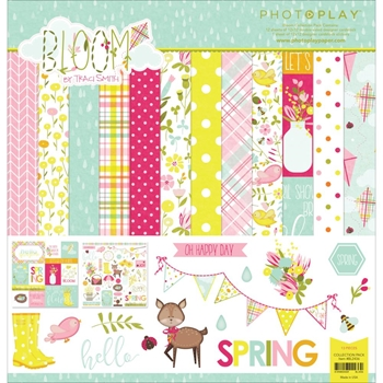 PhotoPlay BLOOM 12 x 12 Collection Pack BL2436