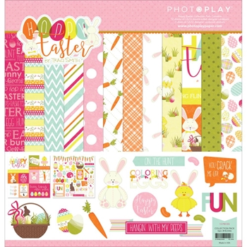 PhotoPlay HOPPY EASTER 12 x 12 Collection Pack HE2446