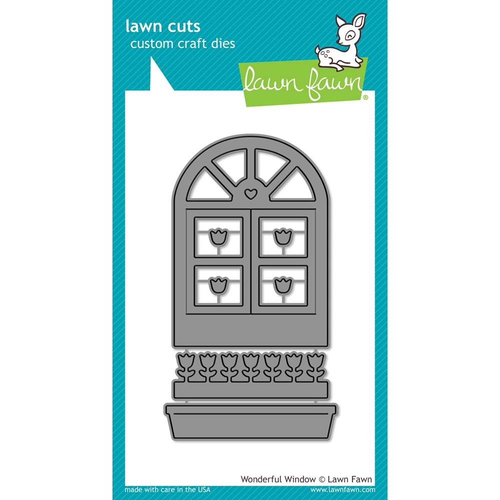 Lawn Fawn Wonderful Window Die Set