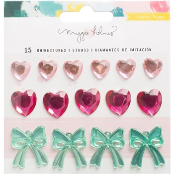 Crate Paper CHASING DREAMS Rhinestones Shapes 375959