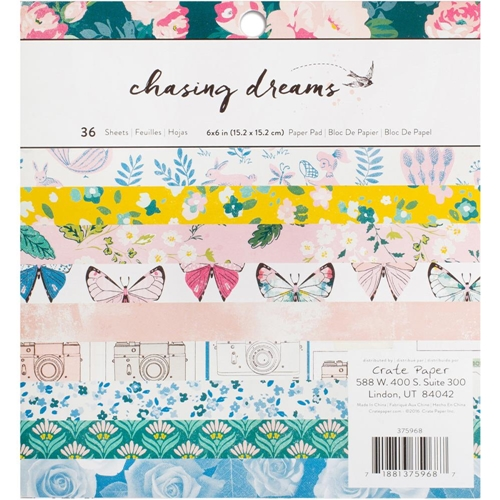 Crate Paper CHASING DREAMS 6 x 6 Paper Pad 375968 Preview Image