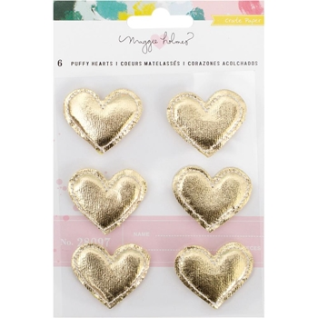 Crate Paper CHASING DREAMS Puffy Hearts 375963