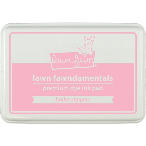 Lawn Fawn BALLET SLIPPERS Premium Dye Ink Pad Fawndamentals LF1386 Preview Image
