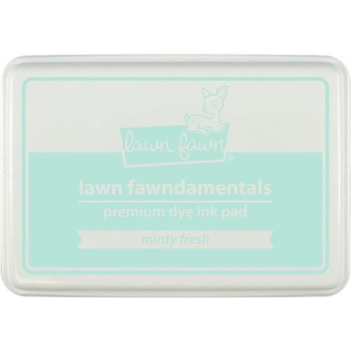 Lawn Fawn MINTY FRESH Premium Dye Ink Pad Fawndamentals LF1392 Preview Image