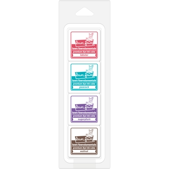 RESERVE Lawn Fawn CANDY STORE Premium Dye Ink Cube Pack LF1401