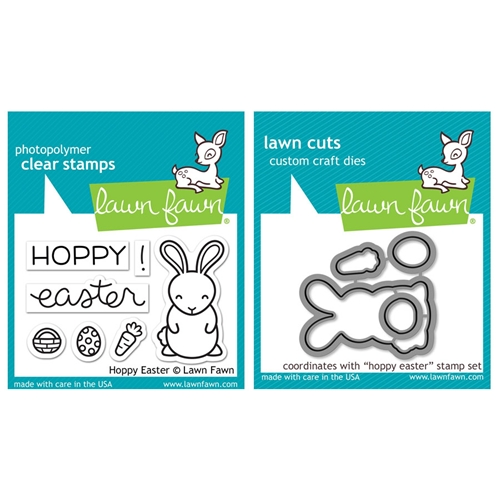 Lawn Fawn SET LF17SETHE HOPPY EASTER Clear Stamps and Dies Preview Image