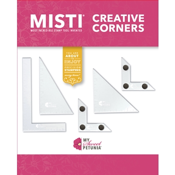 RESERVE MISTI CREATIVE CORNERS Positioning Pieces 007001