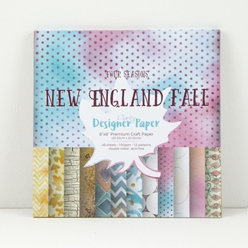 Claritystamp NEW ENGLAND FALL 8x8 Paper Pad Candy Shop Collection ACCCA3044188