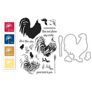 Hero Arts Color Layering ROOSTER Bundle SB138
