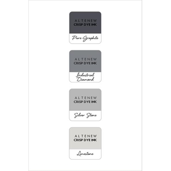 Altenew ROCK COLLECTION Mini Cube Crisp Dye Ink Pad Pack ALT1522