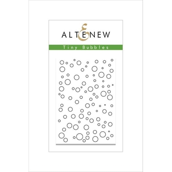 Altenew TINY BUBBLES Clear Stamp Set