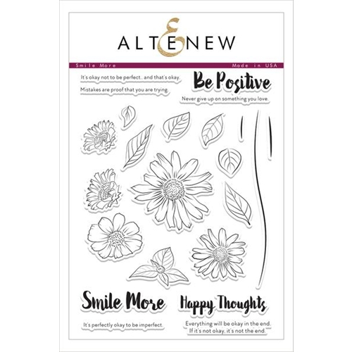Altenew SMILE MORE Clear Stamp Set Preview Image