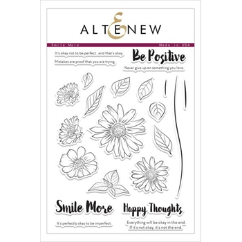 Altenew SMILE MORE Clear Stamp Set