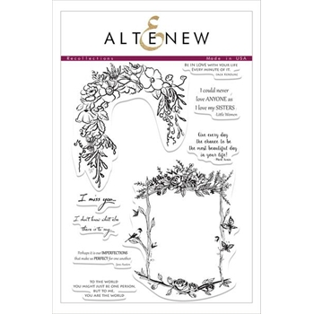 Altenew RECOLLECTIONS Clear Stamp Set
