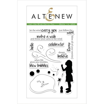 Altenew LET THE WIND CARRY YOU Clear Stamp Set