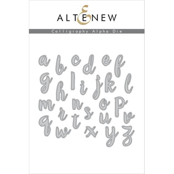 Altenew CALLIGRAPHY ALPHA DIE Set