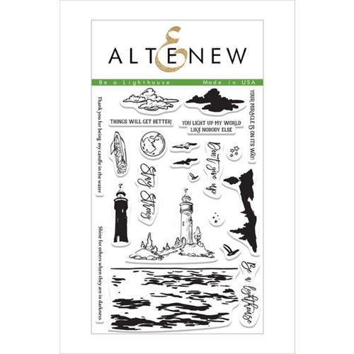 Altenew BE A LIGHTHOUSE Clear Stamp Set ALT1499