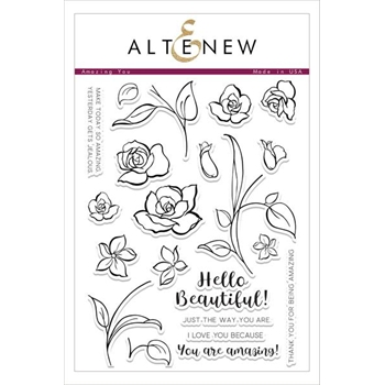 Altenew AMAZING YOU Clear Stamp Set