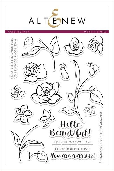 Altenew AMAZING YOU Clear Stamp Set ALT1496