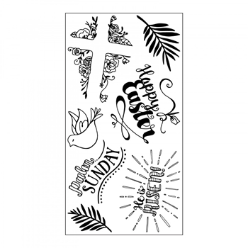Sizzix Clear Stamps HE IS RISEN 661999