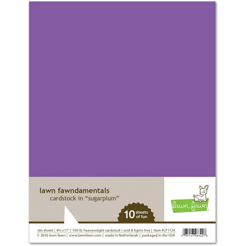 Lawn Fawn SUGARPLUM Cardstock LF1124 Preview Image