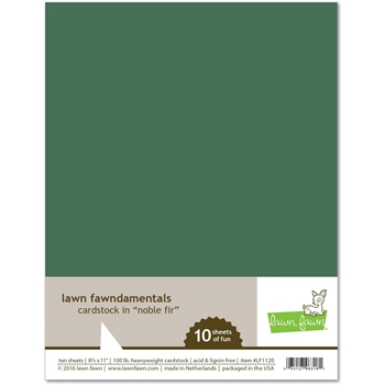 Lawn Fawn NOBLE FIR Cardstock LF1120
