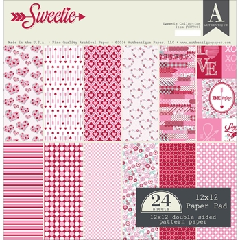Authentique SWEETIE 12 x 12 Paper Pad SWT007