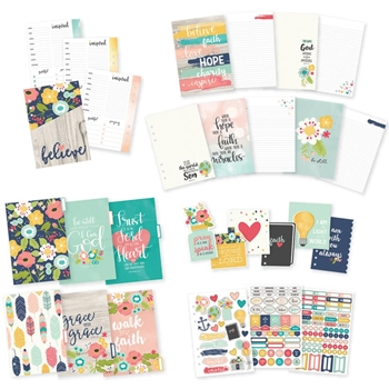 Simple Stories FAITH A5 Planner Inserts 8905