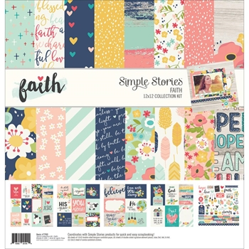 Simple Stories FAITH 12 x 12 Collection Kit 7700