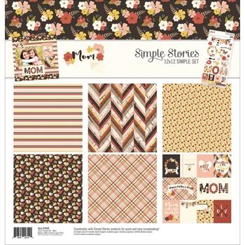 Simple Stories MOM 12 x 12 Collection Kit 7840
