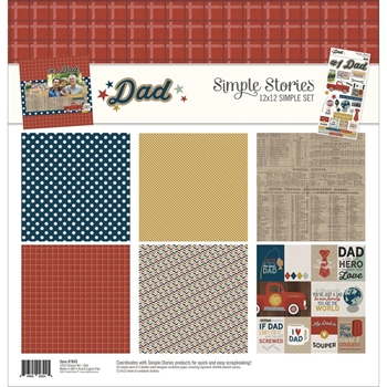 Simple Stories DAD 12 x 12 Collection Kit 7845