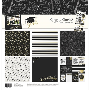 Simple Stories GRAD 12 x 12 Collection Kit 7850