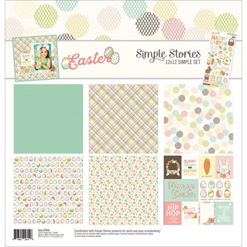 Simple Stories EASTER 12 x 12 Collection Kit 7835